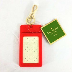 Kate Spade Womens ID Clip Holder Why Hello There